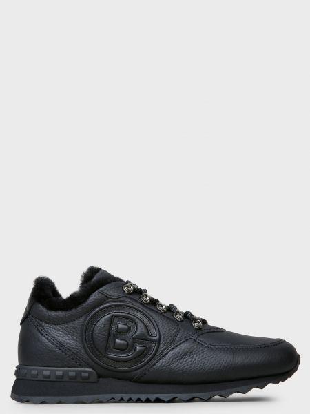 Кожаные кроссовки - черные Baldinini
