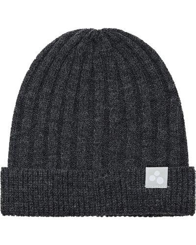 Вязаная шапка - серая Huppa