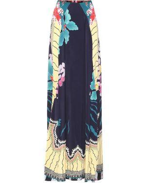 Юбка макси с цветочным принтом пачка Etro