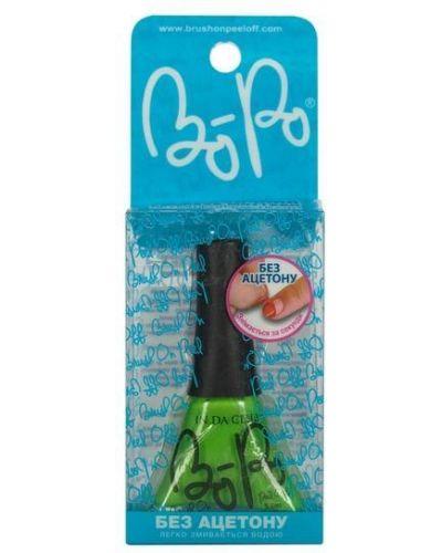Зеленый лак для ногтей Bopo