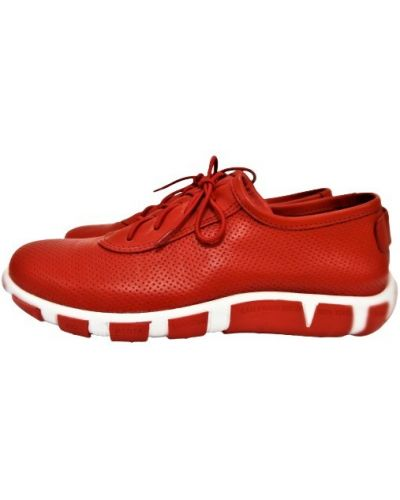 Кожаные кеды - красные Molly Bessa