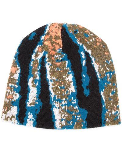 Синяя кашемировая шапка бини Baja East