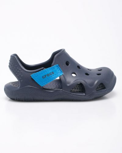 Шлепанцы синие Crocs