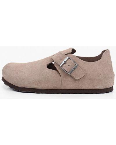 Бежевые ботинки Birkenstock