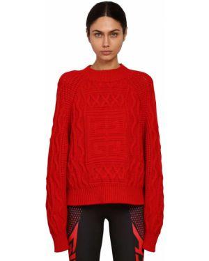 Prążkowany z kaszmiru sweter Givenchy