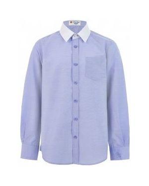 Рубашка однотонная Button Blue