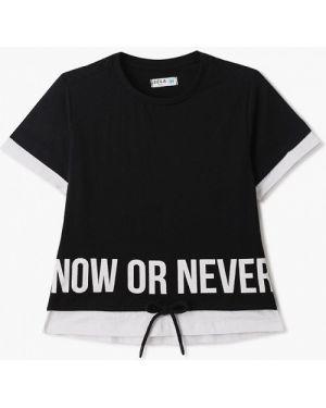 Черная футболка Sela