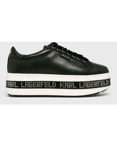 Кроссовки на платформе черный Karl Lagerfeld