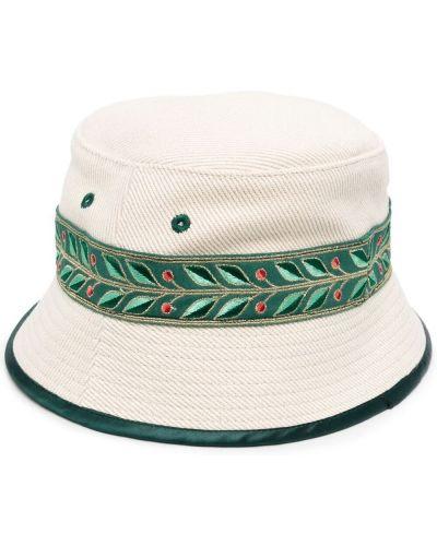 Шерстяная шапка - бежевая Casablanca