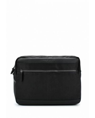 Черная сумка через плечо Tommy Hilfiger