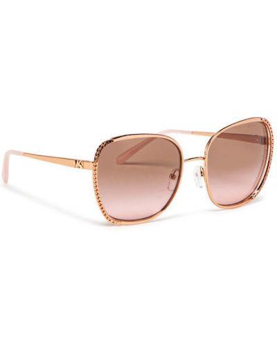 Różowe okulary Michael Kors