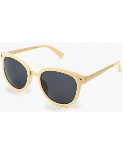 Бежевые солнцезащитные очки Kawaii Factory