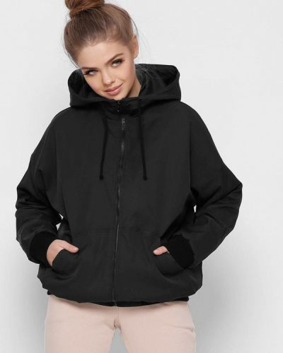 Черная утепленная куртка Carica&x-woyz