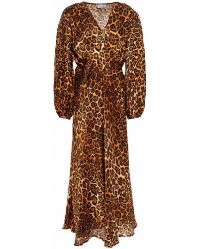 Шелковое платье миди Paul & Joe
