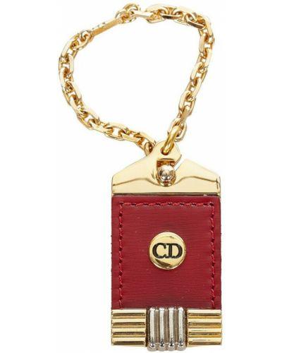 Czerwony łańcuszek Dior Vintage