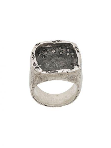 Золотистое кольцо золотое без застежки Tobias Wistisen