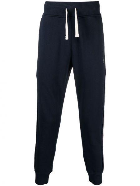 Niebieskie spodnie bawełniane Hydrogen