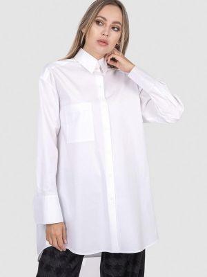 Рубашка с длинным рукавом - белая энсо
