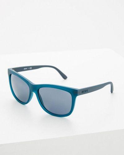 Синие солнцезащитные очки Dkny