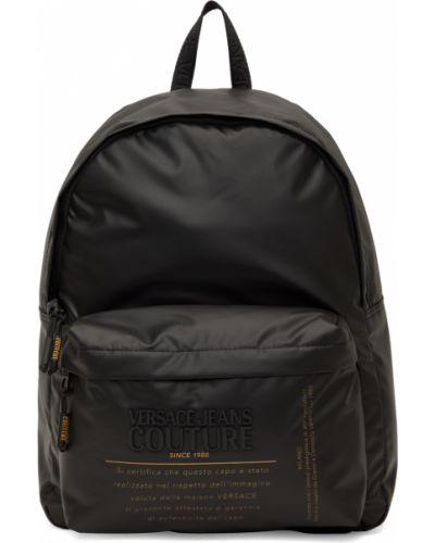 Plecak na laptopa - czarny Versace Jeans Couture