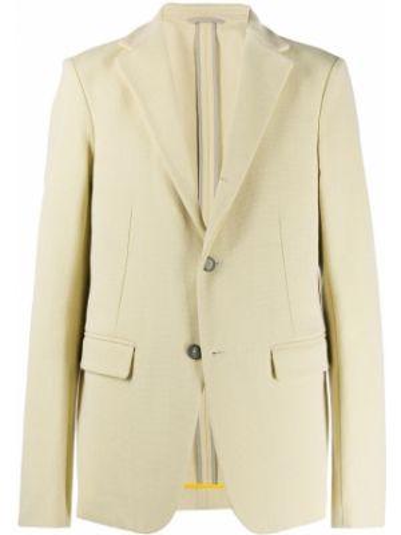 Песочный прямой пиджак Jil Sander Pre-owned