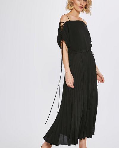 Платье миди однотонное свободного кроя Miss Sixty