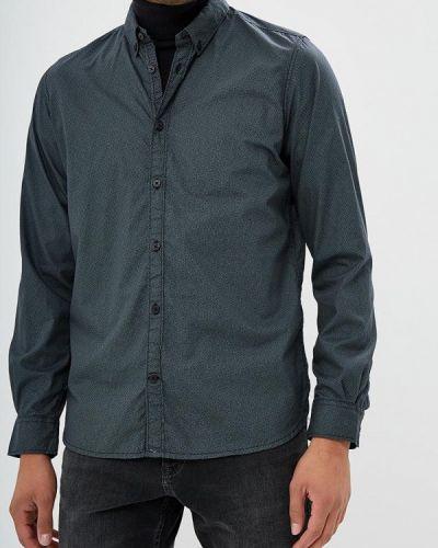 Серая рубашка с длинным рукавом Tom Tailor