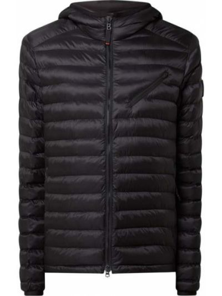 Czarna kurtka pikowana Bogner Fire + Ice