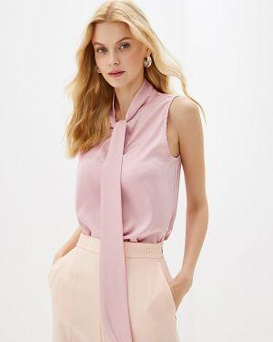Блузка без рукавов розовая весенний Gepur