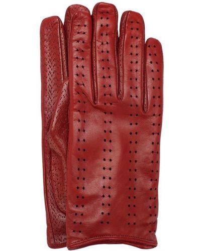 Кожаные перчатки с перфорацией Sermoneta Gloves