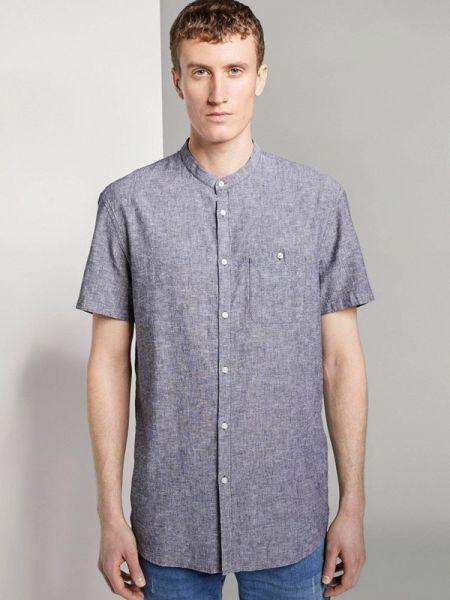 Джинсовая рубашка - серая Tom Tailor Denim