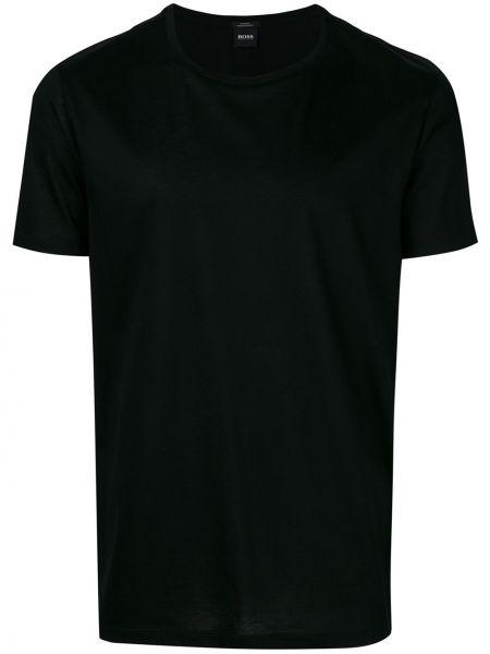Черная базовая футболка Boss Hugo Boss
