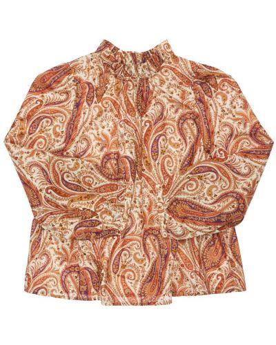 Хлопковая рубашка Bonpoint