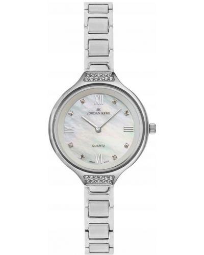 Klasyczny zegarek srebrny Jordan Kerr