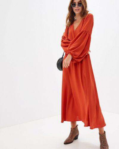 Платье - оранжевое Clabin