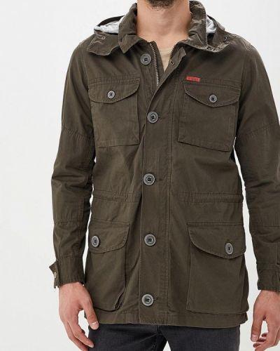 Куртка осенняя зеленая Piazza Italia