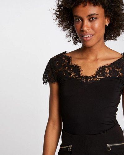 Блузка кружевная черная Morgan