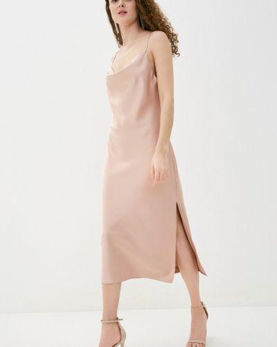 Бежевое платье Imocean