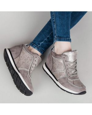 Sneakersy zamszowe oversize Vices