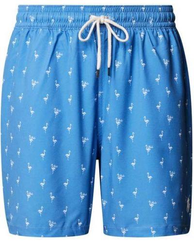 Niebieskie spodenki do pływania Polo Ralph Lauren