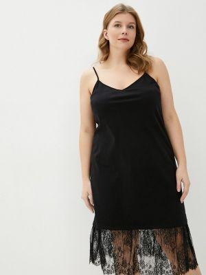 Платье-майка - черное Twinset Milano