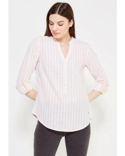 Розовая рубашка с длинным рукавом Mustang