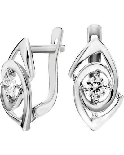 Серебряные серьги классические Silver Wings