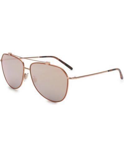 Солнцезащитные очки для зрения металлические Dolce & Gabbana