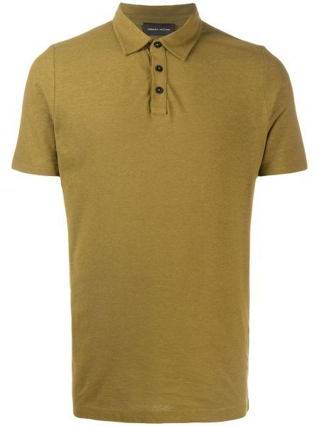 Koszula krótkie z krótkim rękawem klasyczna prosto Roberto Collina