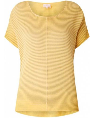 Sweter bawełniany - żółty Lieblingsstück