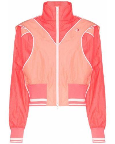 Розовая спортивная куртка с манжетами Converse