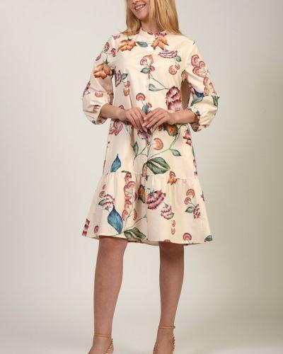 Хлопковое платье Luisa Cerano