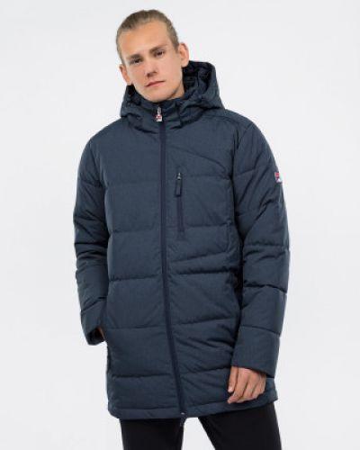 Зимняя куртка с капюшоном спортивная Fila