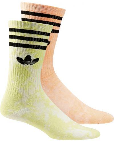 Skarpety - żółte Adidas Originals